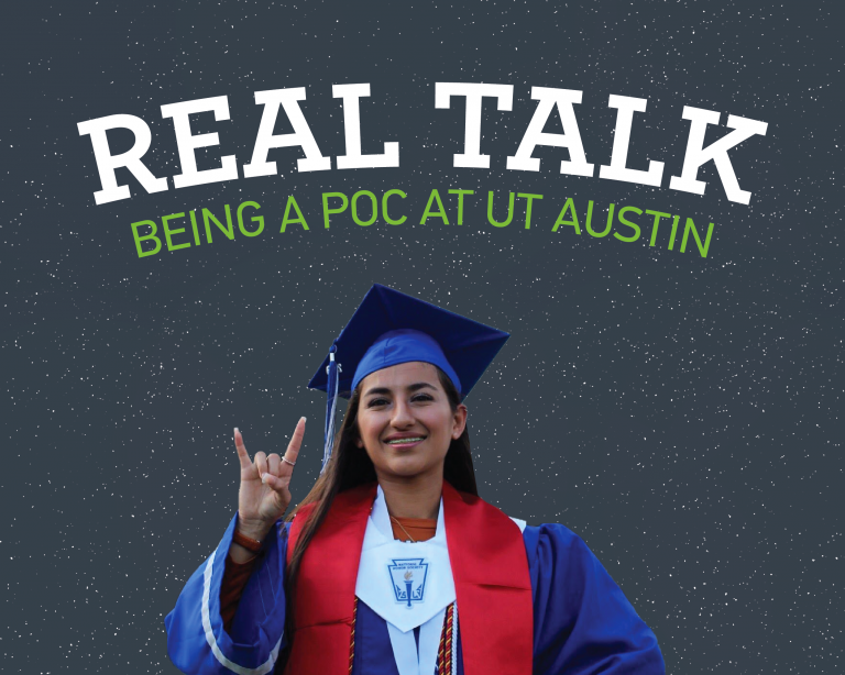real talk: being a poc at ut
